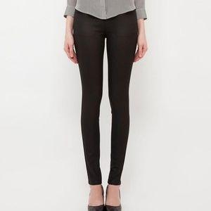 Uniqlo Dark Gray Aged Wash Jean